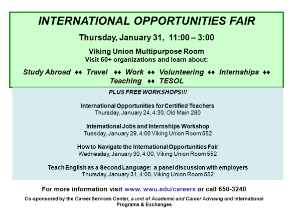 International Opportunities Fair