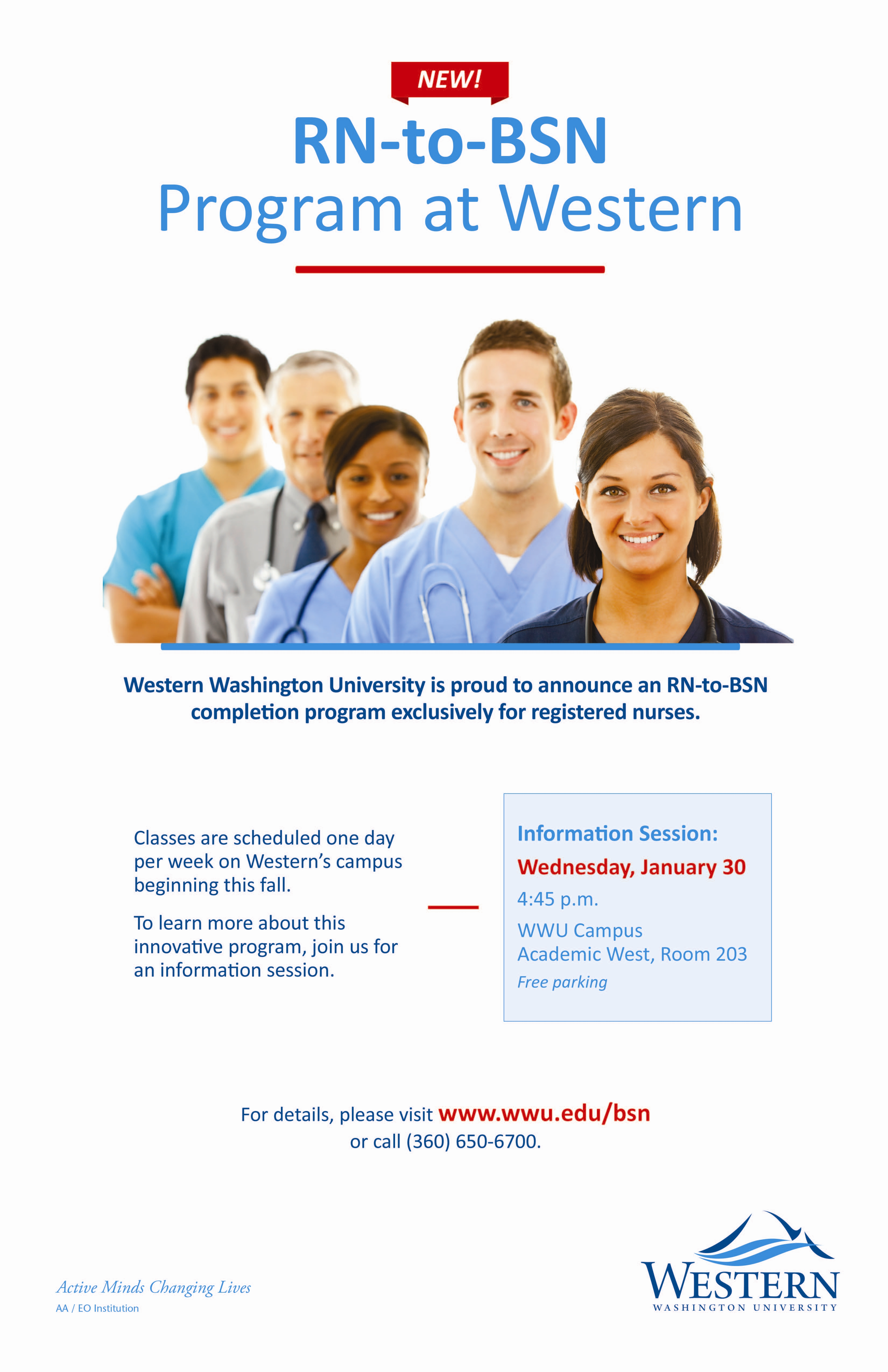 RN-to-BSN at WWU: Information Session | WCC Career and ...