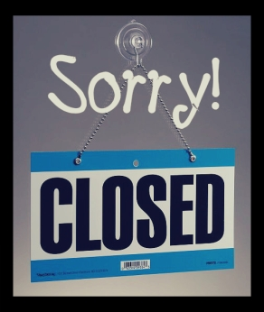 sorry, closed!