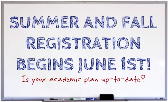 SUMMER AND FALL REGISTRATION