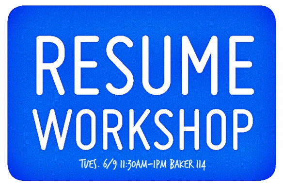 resumeworkshopspring15